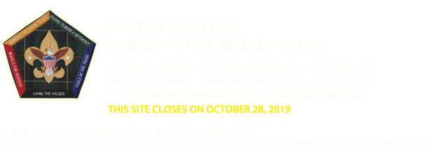 Five Rivers Council - N3-375-19